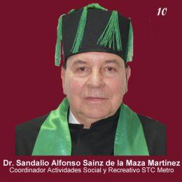 Sandalio Alfonso Sainz de la Maza Martínez
